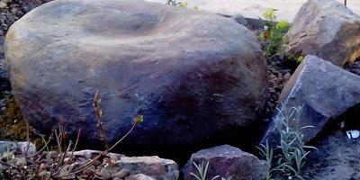 Камни валуны для декора сада своими руками