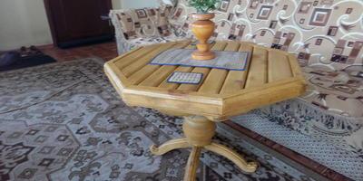 Записки старого ворчуна. Делаем столик для чая