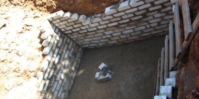 Как я погреб строила)))