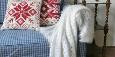 Уют в доме с помощью вышивки