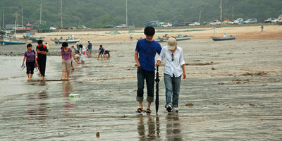 Морские прогулки в Корее