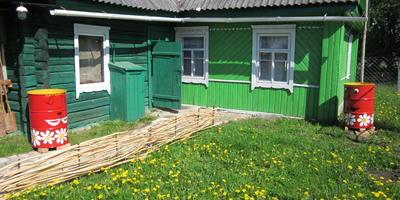 """Мой """"Зелёный домик"""""""
