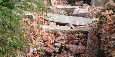 Что можно посадить на месте закопанного фундамента?