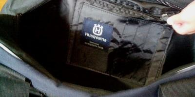 Ко мне приехала сумка от Хускварна!