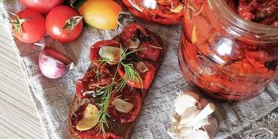 Вяленые томаты - любовь с первого кусочка