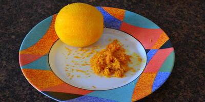 Апельсиновые кексы (маффины)