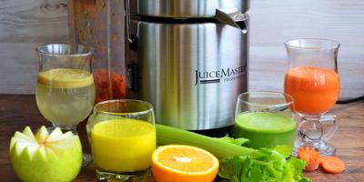 Тестирую соковыжималку Rotel Juice Master professional