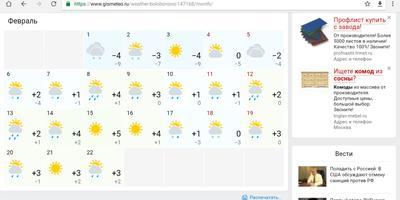 Что делать, если сбудется прогноз на февраль?