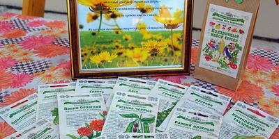 Получила подарок от компании Русский огород!