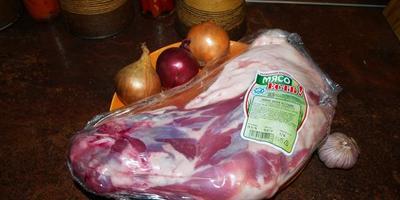 Рождественская баранина, запечённая с картофелем в рукаве
