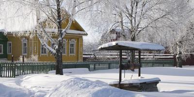 Жёлтый домик
