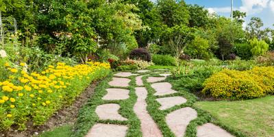 Садовые дорожки своими руками