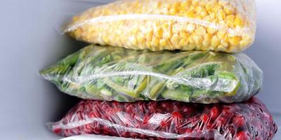 Заморозка на зиму: видео о заготовке различных овощей