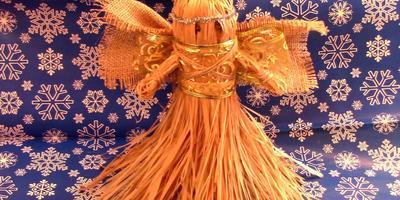Мастер-класс: Рождественский ангел своими руками