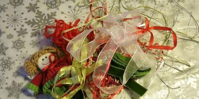 Подарочное саше к Новому году своими руками