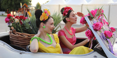 С 1 по 10 июля в Москве состоится юбилейный пятый фестиваль MOSCOW FLOWER SHOW в Парке Горького.