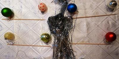 Новогодний декор: подвеска-мобиле