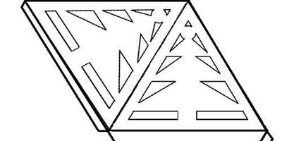 Декоративная елочка из бумаги