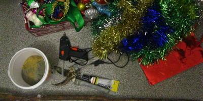 Топиарий: Новогоднее дерево