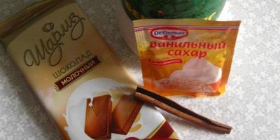Готовим горячий шоколад с Чили перцем