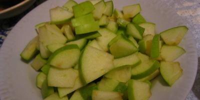 Яблочный штрудель для похудения