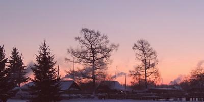 За мгновение до восхода солнца