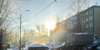 Зимнее солнце. Оно бывает разное, но всегда прекрасное!