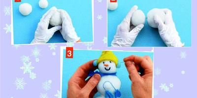 Фигурки для дома и сада своими руками: снеговики и Деды Морозы