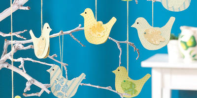 Поделки своими руками: птички и мотыльки