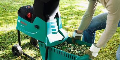 Безотходное производство: выбираем садовый измельчитель