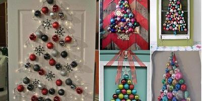 Наряжаем новогоднюю елку без... елки