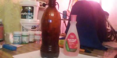 Декорирование бутылки в технике декупаж