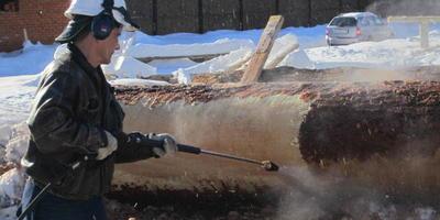 Новое в подготовке бревен для деревянного дома