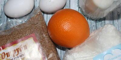 Апельсиновые панкейки