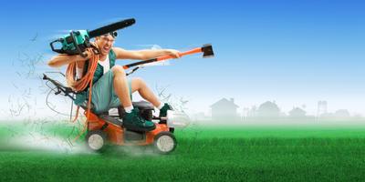 Аренда садовой техники: выгодно или нет?