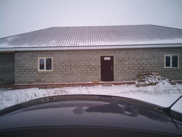 Наш дом в процессе строительства