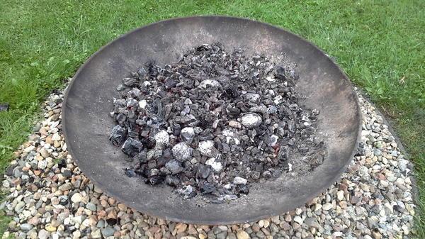 Картофель в углях