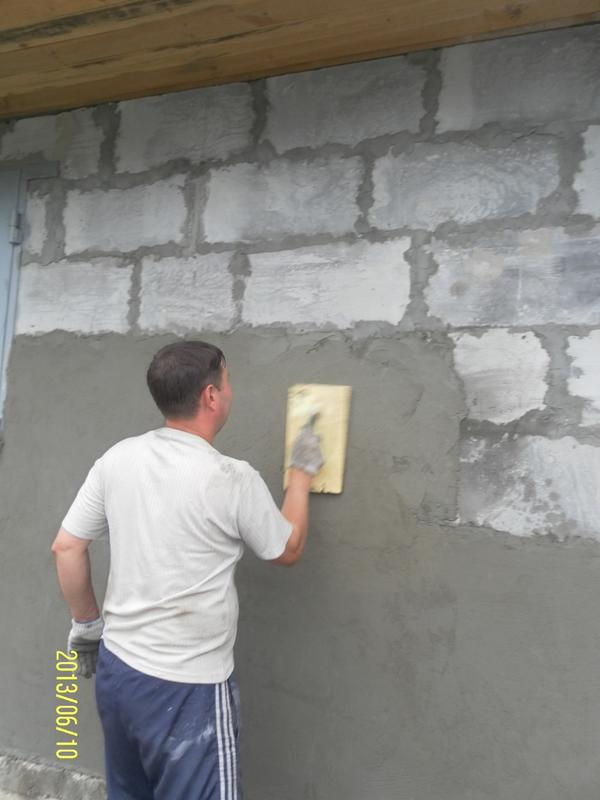 внешняя отделка стен