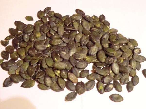 Семечки голосеменной тыквы