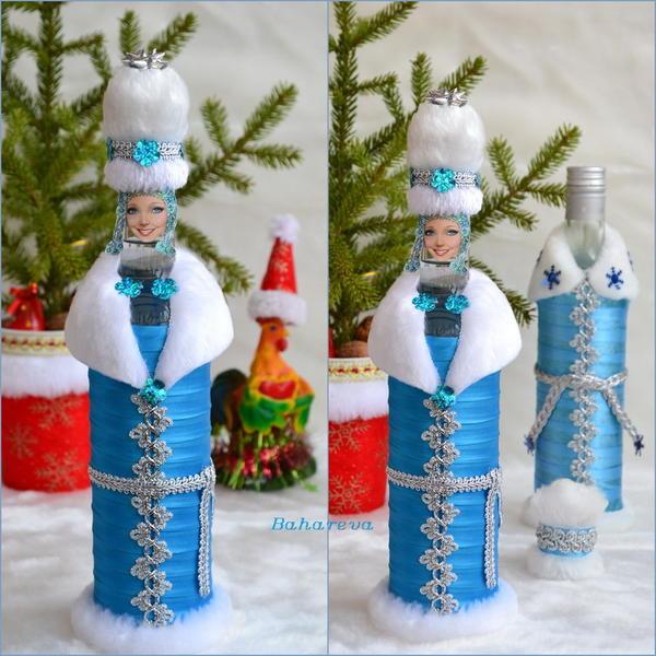 Водочка-снегурка.)