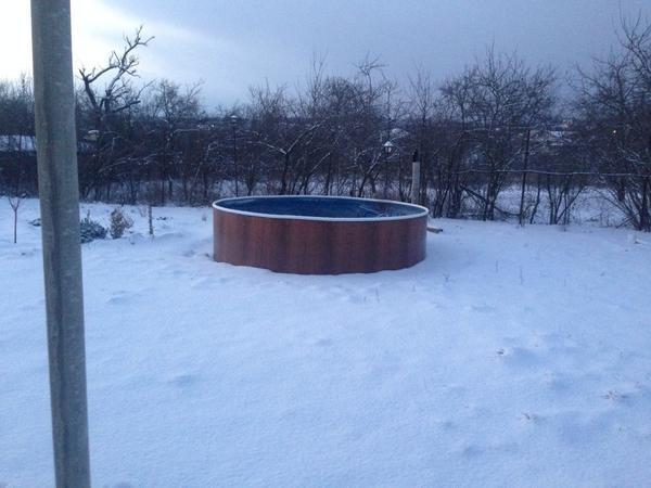 А вот так было у нас... Но это - начало декабря... А потом -фсё:), кончился снег:))