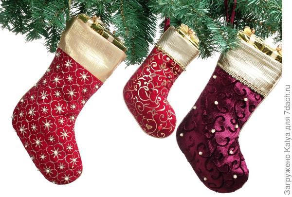 рождественские чулочки