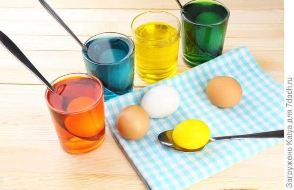 красители для яиц
