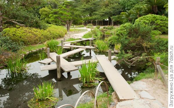 Зигзагообразный мост яцухаси