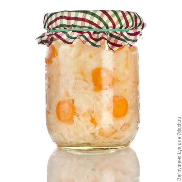 Маринованная капуста «Классическая, с морковью»
