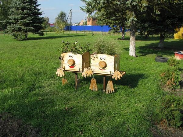 Самодельные кашпо для растений