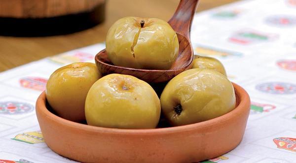 Яблоки моченые фото сайта foodily.ru