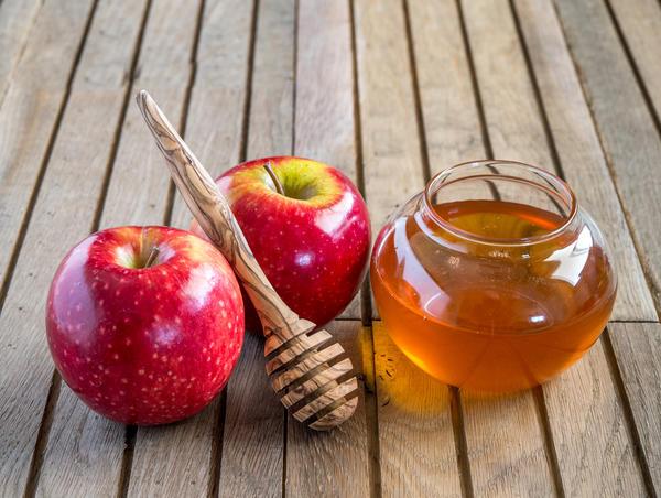 Мочение яблок с медом
