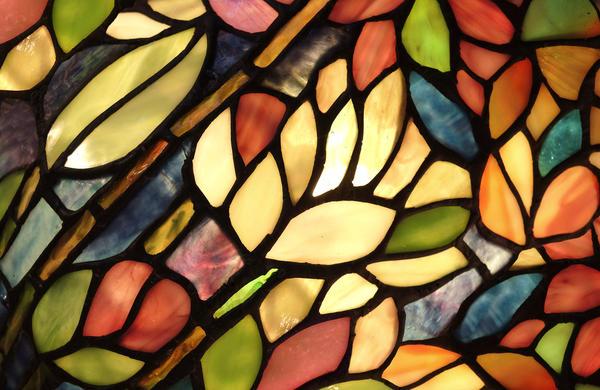 Роспись витражными красками (снаружи)