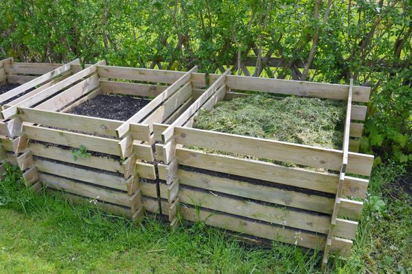 Ящик для компоста можно сделать своими руками